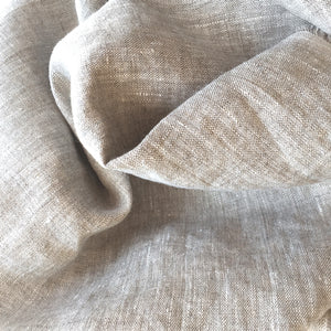 Natural linen Yardage: gorgeous linen by the yard at Sproule Studios.