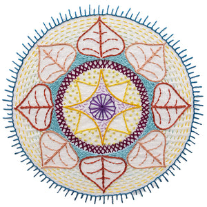 Workshop: Hand Embroidered Mandala
