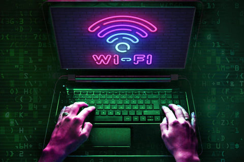 local wifi hacked