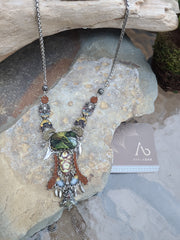 Necklace Forest Chunky