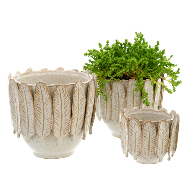 Feather Pots