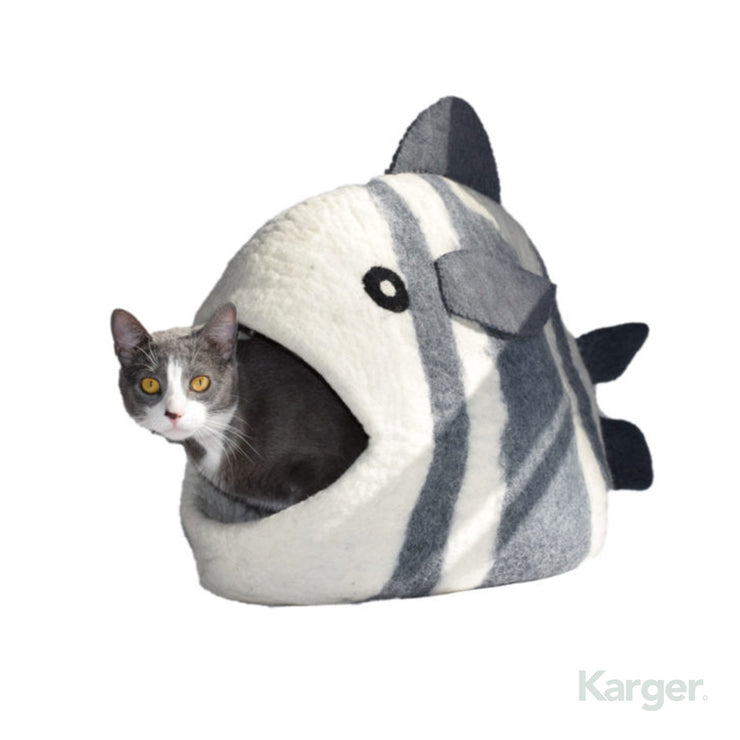 Cat Bed Fish