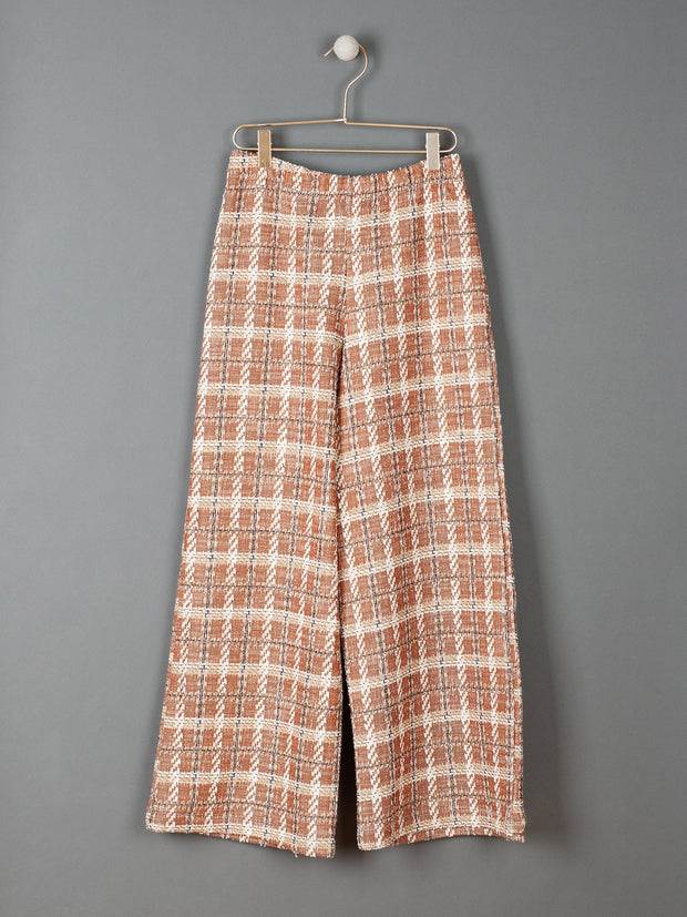 James Trousers in Tricot Fabric