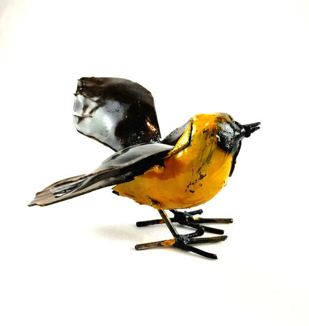 Hand Crafted Metal Bird