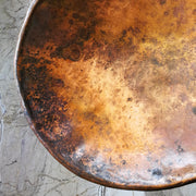 Copper Bowl Round Small