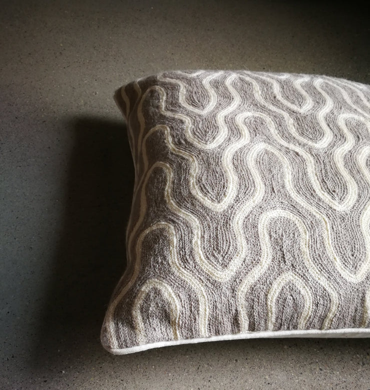 Crewel Stitch Cushion Cover 3