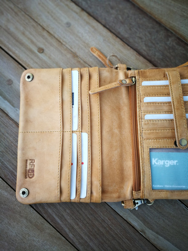 Leather Wallet Bag