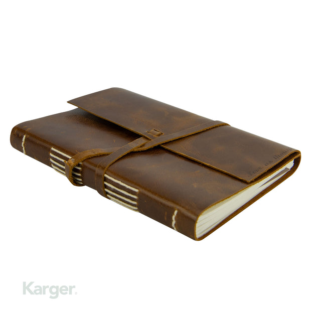 Hand bound Leather travel Journal