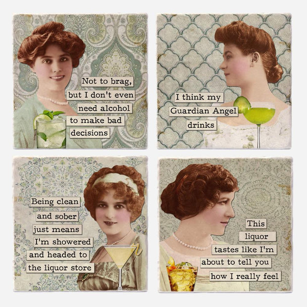 Lushing Babes Coaster Set