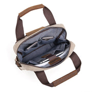 Shoulder bag with top handle