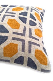 Crewel Stitch Cushion Cover 8