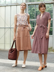 Casual Skirt Terracotta