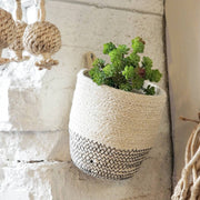 Sea Grass hanging planter Basket