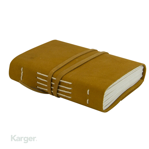 Hand Sown Leather travel Journal