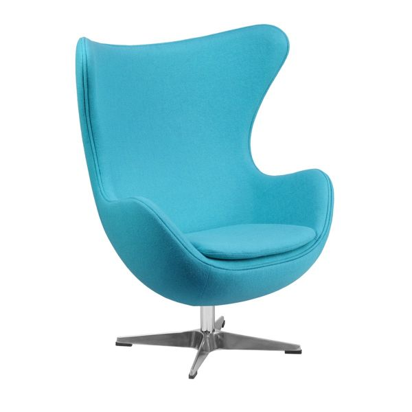 Egg Lounger Turquoise