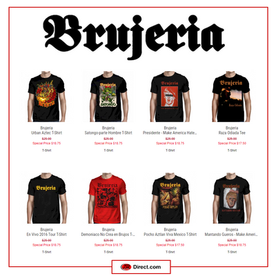 Brujeria's Collector's Sale