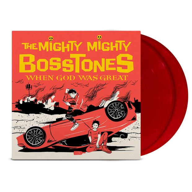 "THE MIGHTY MIGHTY BOSSTONES When God Was Great 12"" Red LP"