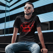 ALIEN FREAK WEAR Retro Red Devil T-Shirt