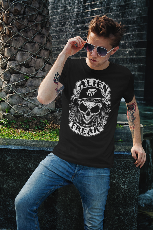ALIEN FREAK WEAR Skull T-Shirt