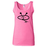 ALIEN FREAK WEAR Classic Ladies Pink Tank Top
