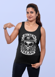 ALIEN FREAK WEAR Skull Ladies Tank Top