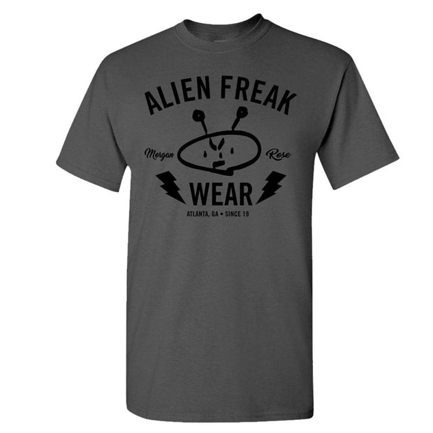 ALIEN FREAK WEAR Brand Grey T-Shirt