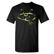 ALIEN FREAK WEAR Camo Logo T-Shirt
