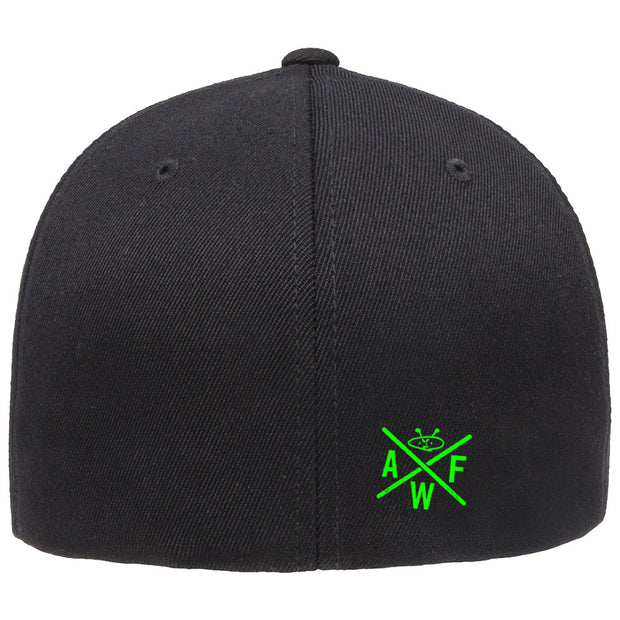 ALIEN FREAK WEAR Alien Logo Flexfit Hat