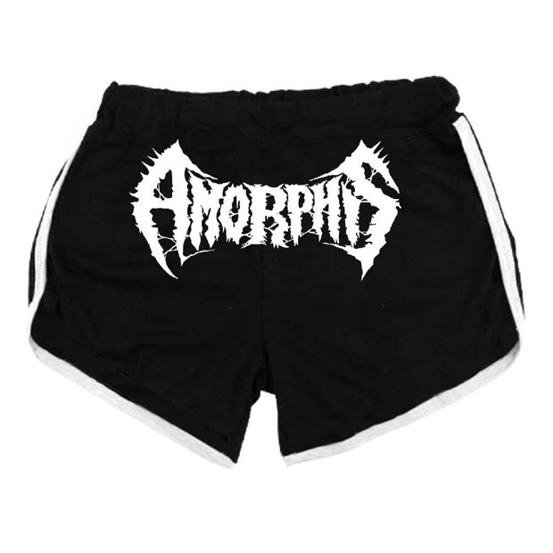 AMORPHIS Logo Ladies Running Shorts