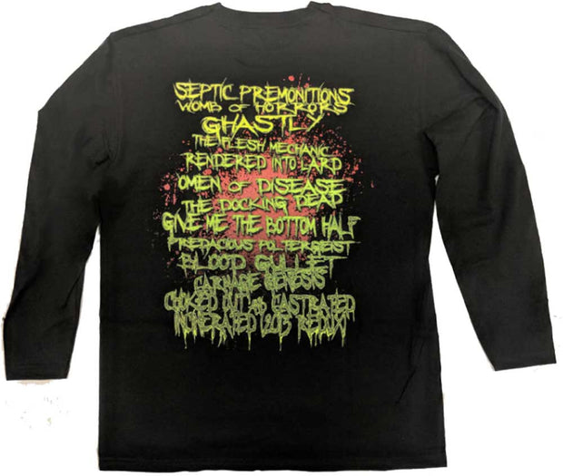 BROKEN HOPE Omen Covers Song Black Long Sleeve