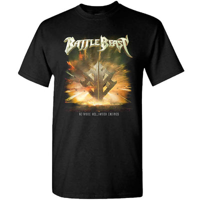 BATTLE BEAST No More Hollywood Endings T-Shirt