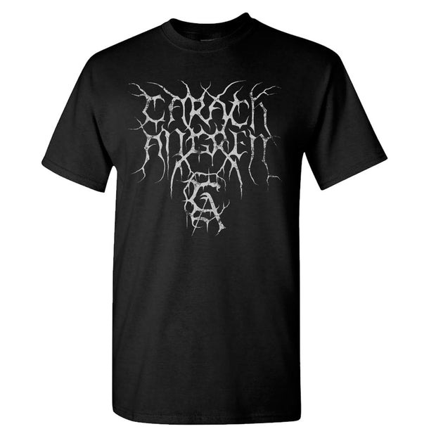 CARACH ANGREN Logo Worship Horror Black T-Shirt