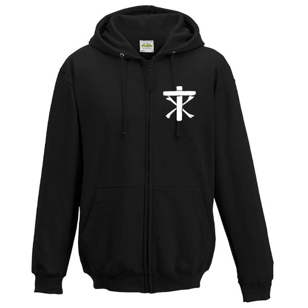 CHRISTIAN DEATH Cross Roots Of Evolution Zip Hoodie