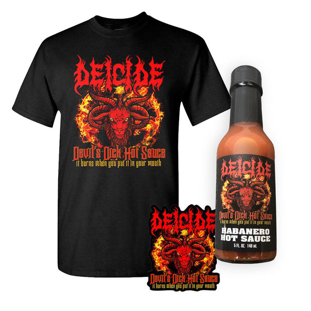 DEICIDE Devil's Dick Hot Sauce Bundle