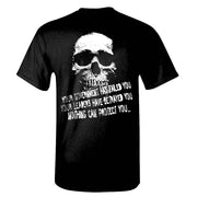 EARTHBURNER Total War Skull T-Shirt