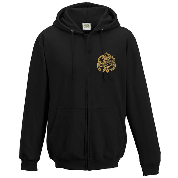ENSIFERUM Dragon Two Paths Zip Hoodie