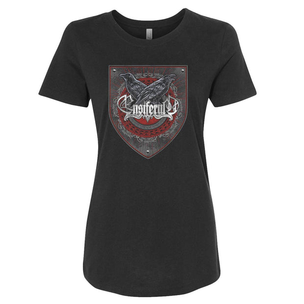 ENSIFERUM Two Ravens Ladies T-Shirt