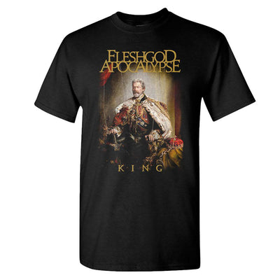 FLESHGOD APOCALYPSE King Cover Black T-Shirt