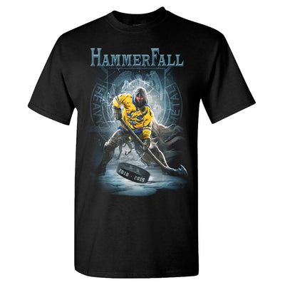 HAMMERFALL Hector Hockey Black T-Shirt