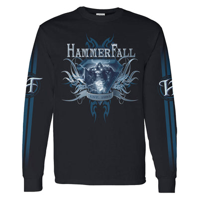 HAMMERFALL Hammerfall 1993 Black Long Sleeve T-Shirt