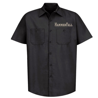 HAMMERFALL Hammer Shield Black Work Shirt