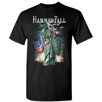 HAMMERFALL Liberty And Metal For All T-Shirt