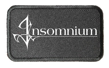 INSOMNIUM Name Logo Patch