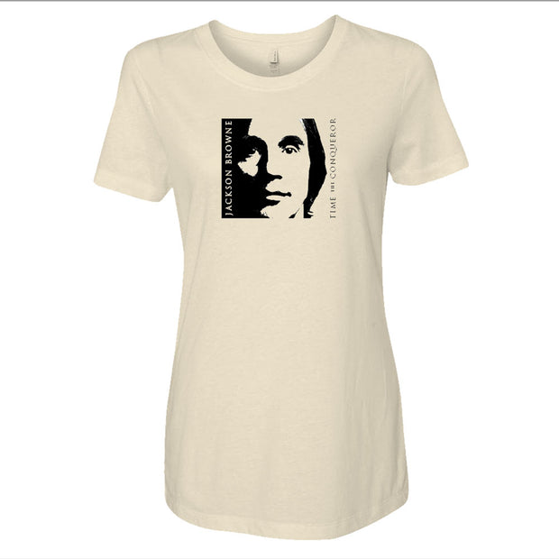 JACKSON BROWNE Time The Conqueror Fall 2008 Ladies T-Shirt