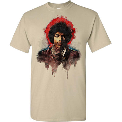 JIMI HENDRIX Watercolor Jimi T-Shirt