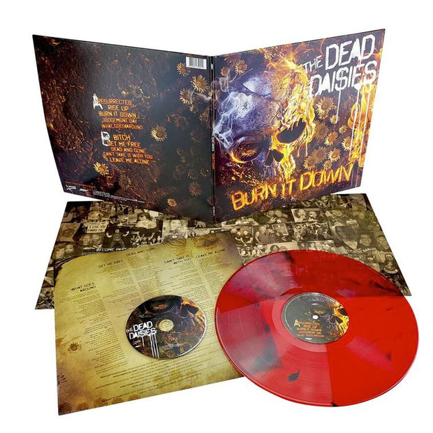 "THE DEAD DAISIES Burn It Down 12"" LP+CD Combo"