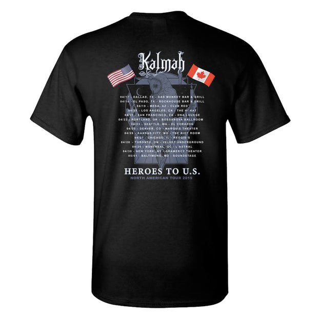 KALMAH NA Tour 2019 Dates T-shirt