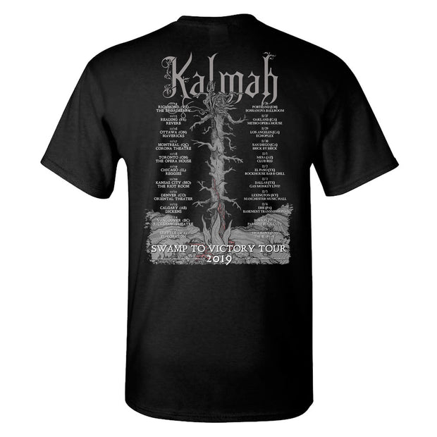 KALMAH Swamp To Victory Tour 2019 T-Shirt