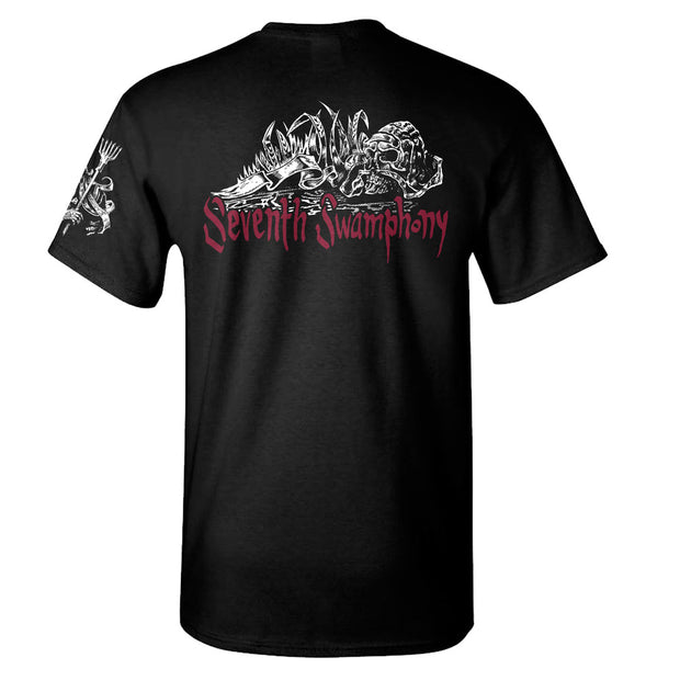 KALMAH Seventh Swamphony Trident T-Shirt