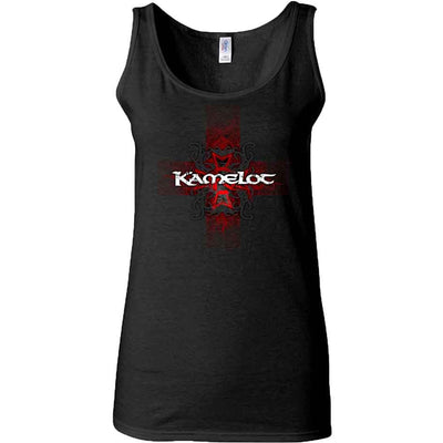 KAMELOT Cross Tribal Ribbed Ladies Tank Top